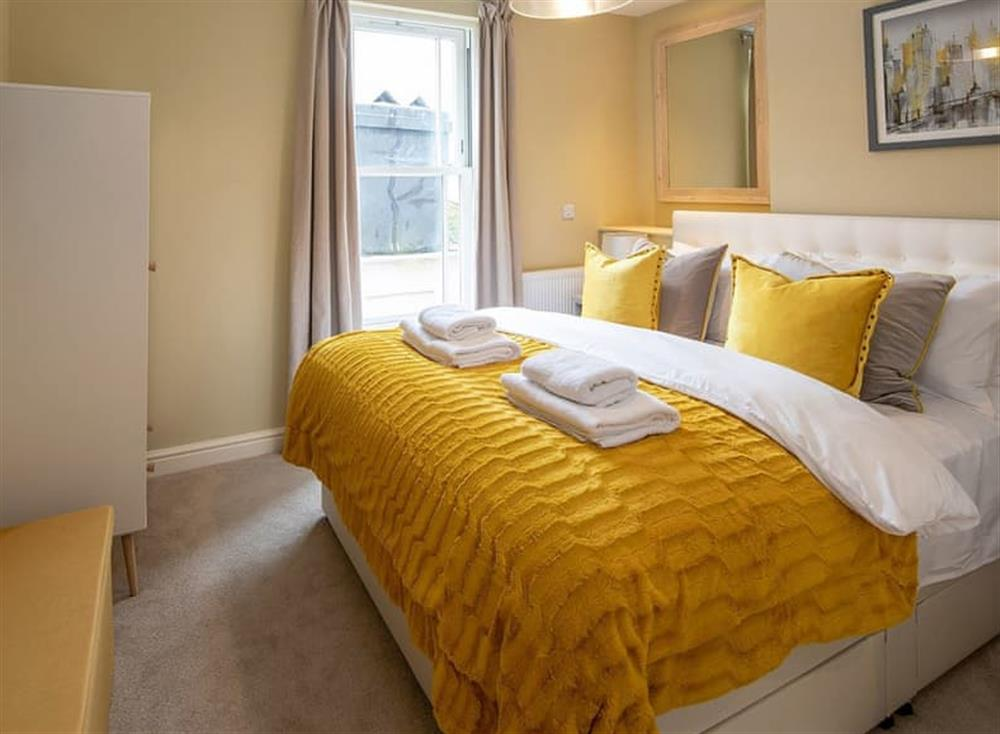 Double bedroom at Frebus House in Dartmouth, Devon