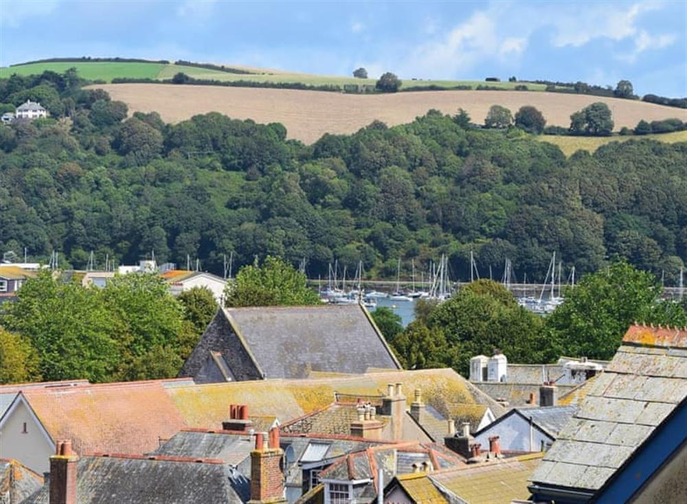 View at Frebus House in Dartmouth, Devon