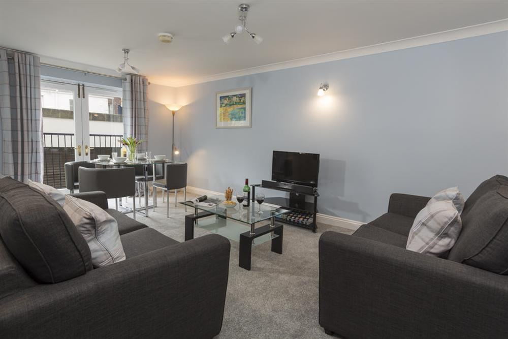 Comfortably furnished living area at Freshford in Mayors Avenue, Dartmouth