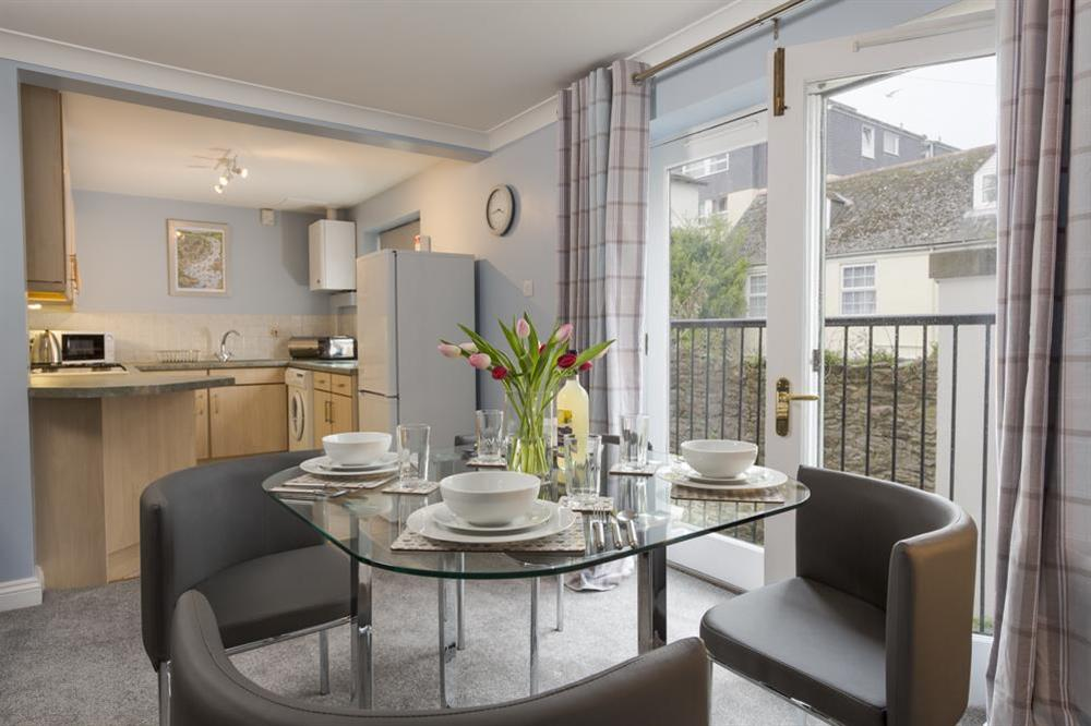 Open plan kitchen/dining area at Freshford in Mayors Avenue, Dartmouth