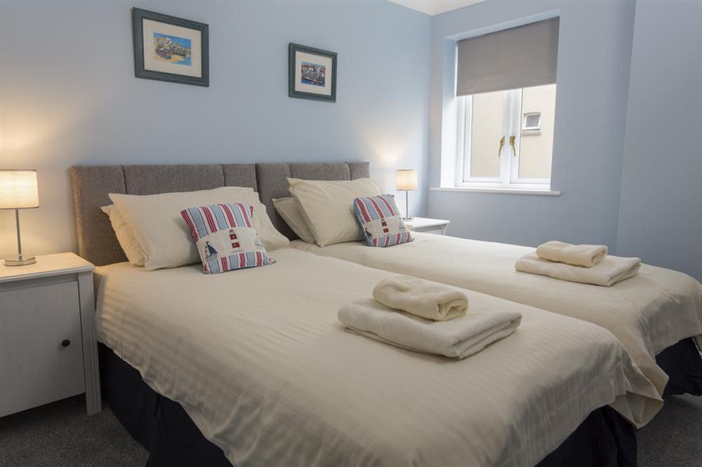 Twin bedroom at Freshford in Mayors Avenue, Dartmouth