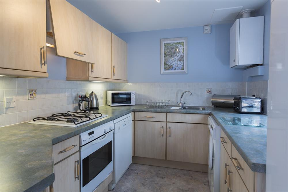 Well equipped kitchen at Freshford in Mayors Avenue, Dartmouth