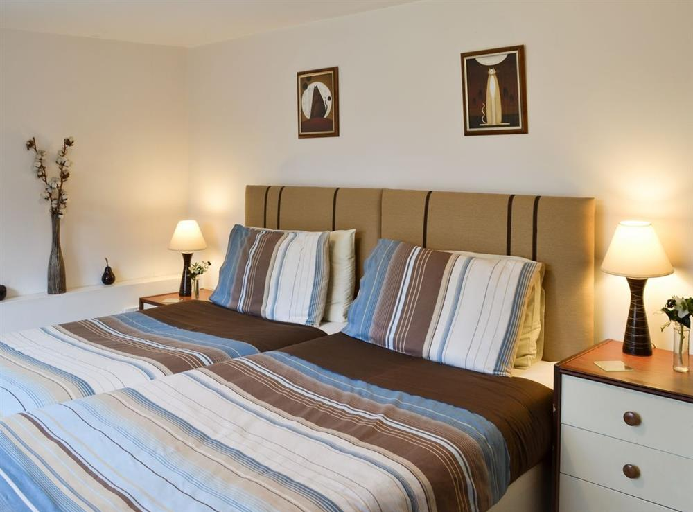 Double bedroom at Frog Cottage in Ipswich, Suffolk