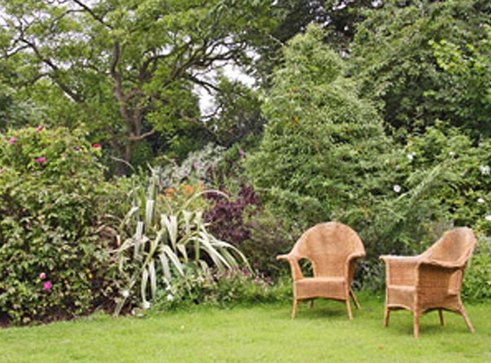 Garden at Frog Cottage in Ipswich, Suffolk