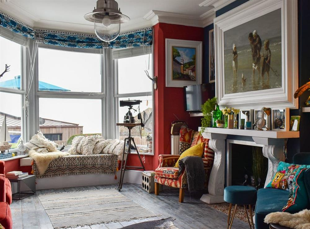 Living room at Fronks House in Harwich, Essex