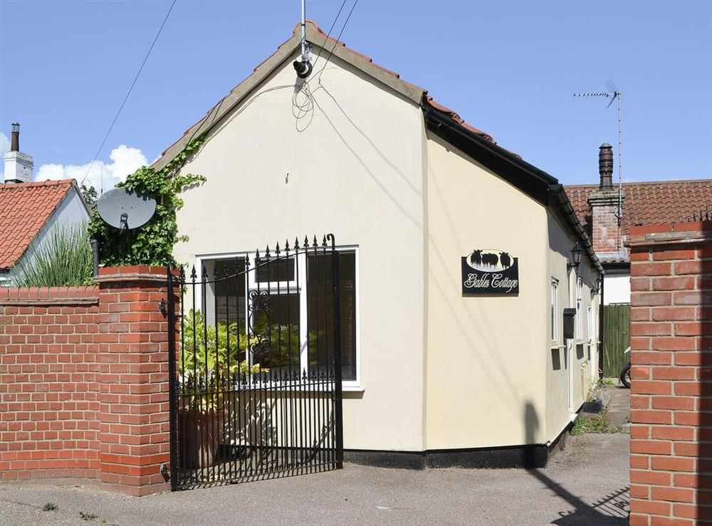 Detached single storey cottage at Gables Cottage in Martham, near Acle, Norfolk