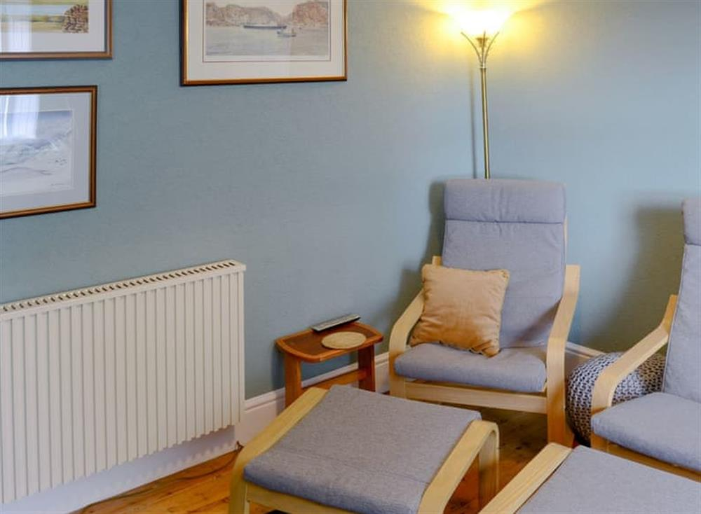 Comfortable living room at Gairs Cottage in Bonar Bridge, near Tain, Ross-Shire
