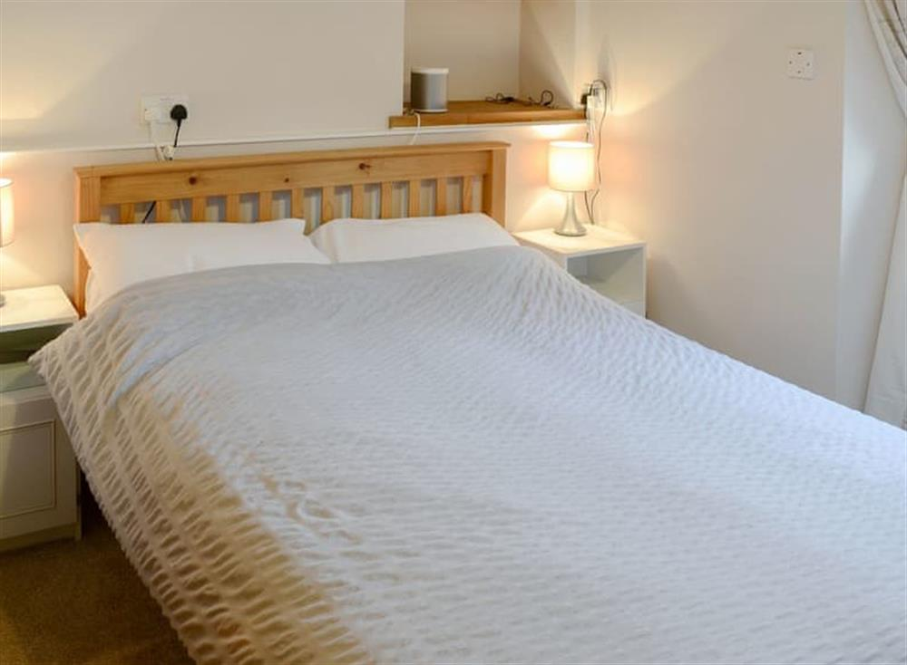 Double bedroom at Gairs Cottage in Bonar Bridge, near Tain, Ross-Shire