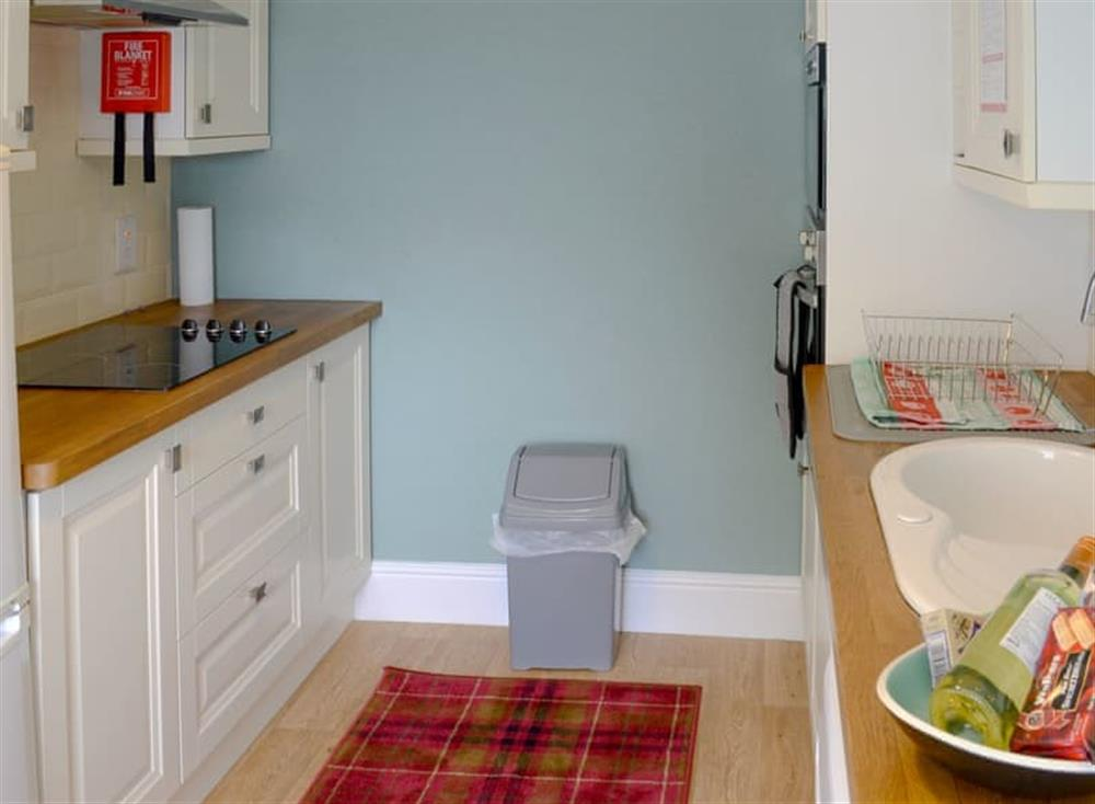 Kitchen/diner at Gairs Cottage in Bonar Bridge, near Tain, Ross-Shire