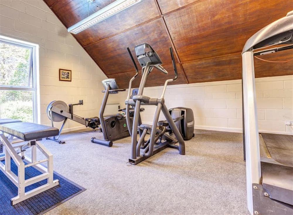 Gym at Gamekeepers Hide in , Ivybridge