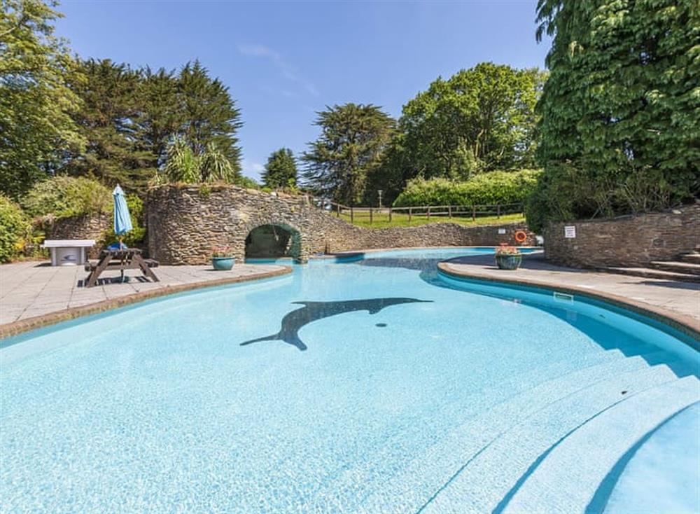 Swimming pool at Gamekeepers Hide in , Ivybridge