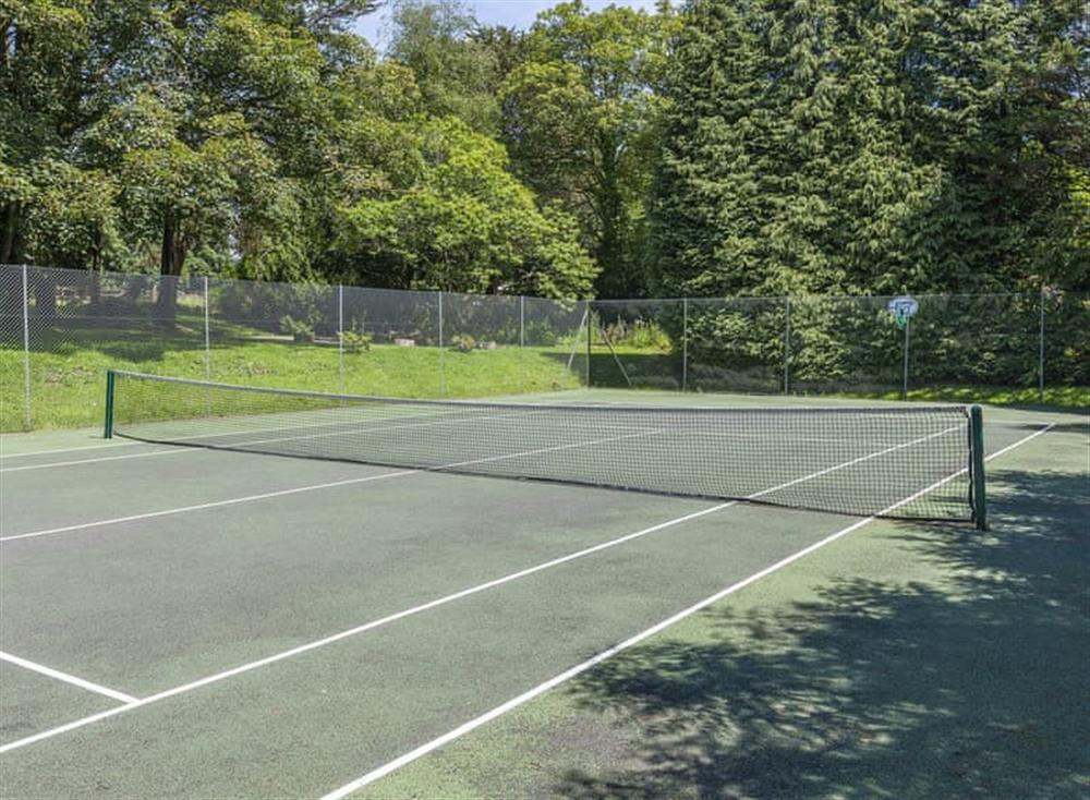 Tennis court at Gamekeepers Hide in , Ivybridge