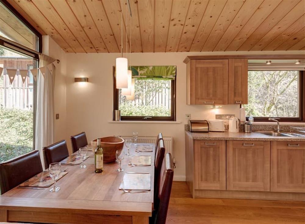 Dining Area at Garden at Gara Mill in , Slapton