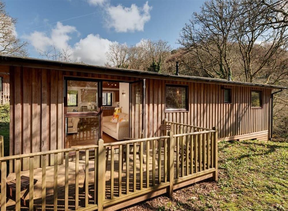 Exterior at Garden at Gara Mill in , Slapton