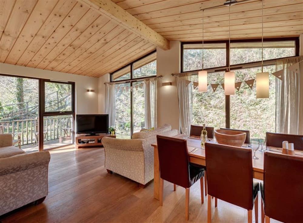 Open plan living space at Garden at Gara Mill in , Slapton