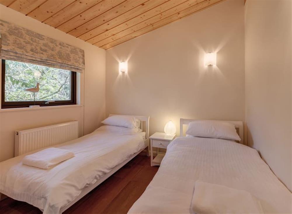 Twin bedroom at Garden at Gara Mill in , Slapton