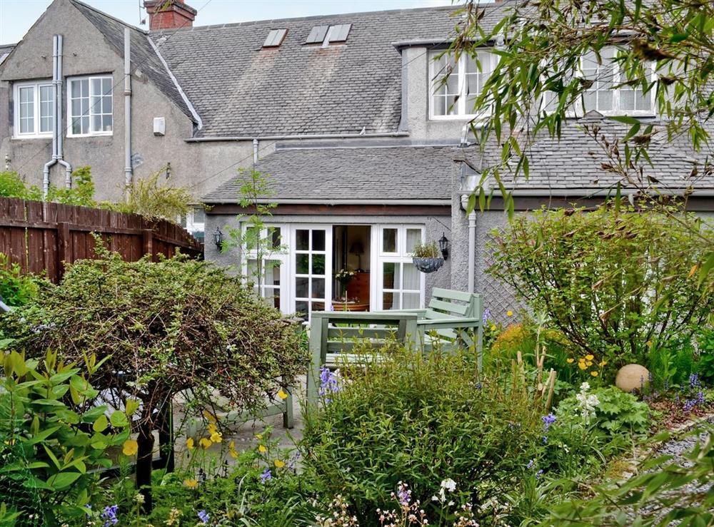 Exterior at Garden Cottage in Bearsden, near Glasgow, Lanarkshire