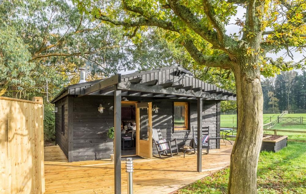 Garden Lodge at Broadacres is a stylish retreat for couples who wish to escape to the Sussex countryside
