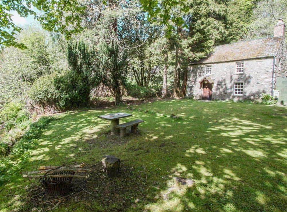 Exterior at Gardener's Bothy in Glenprosen, by Kirriemuir, Angus., Great Britain
