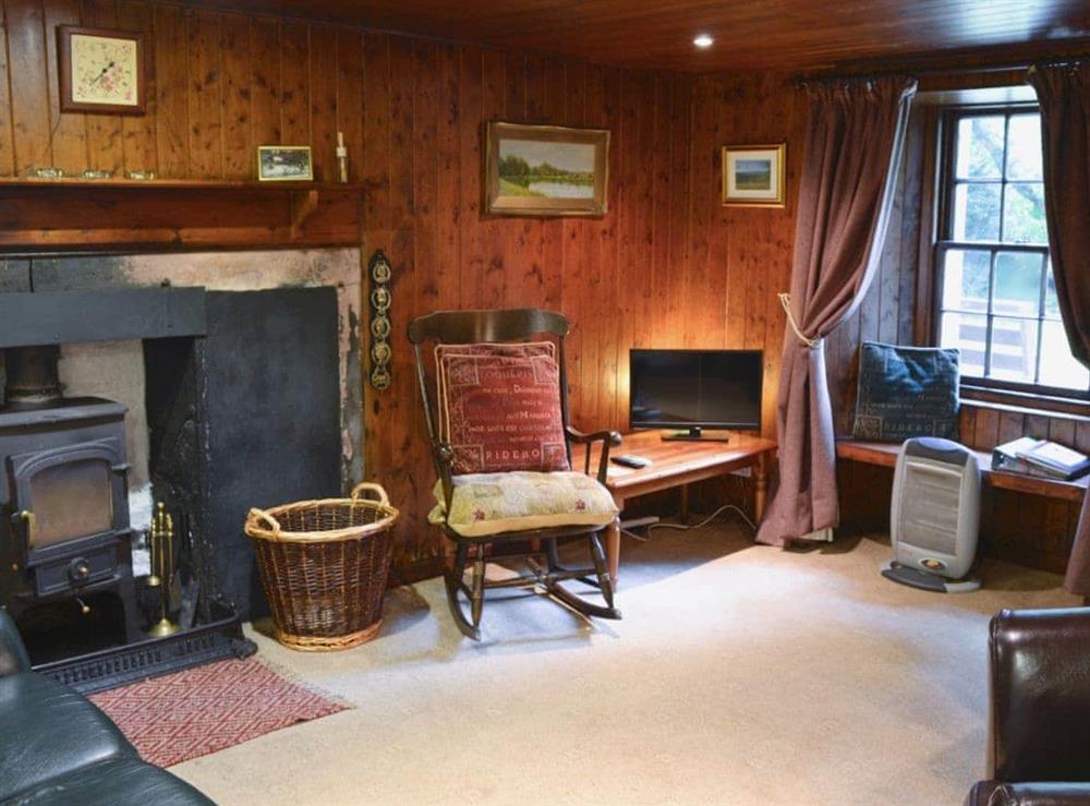 Open plan living/dining room/kitchen at Gardener's Bothy in Glenprosen, by Kirriemuir, Angus., Great Britain