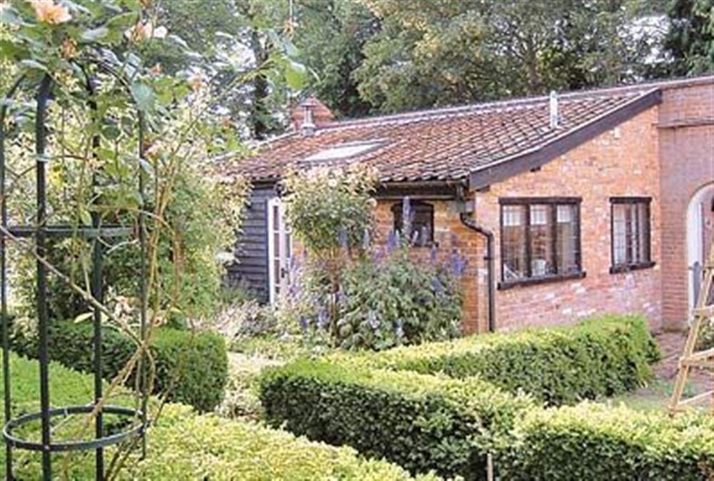 Exterior at Gardeners Cottage in Cransford, Saxmundham, Suffolk., Great Britain