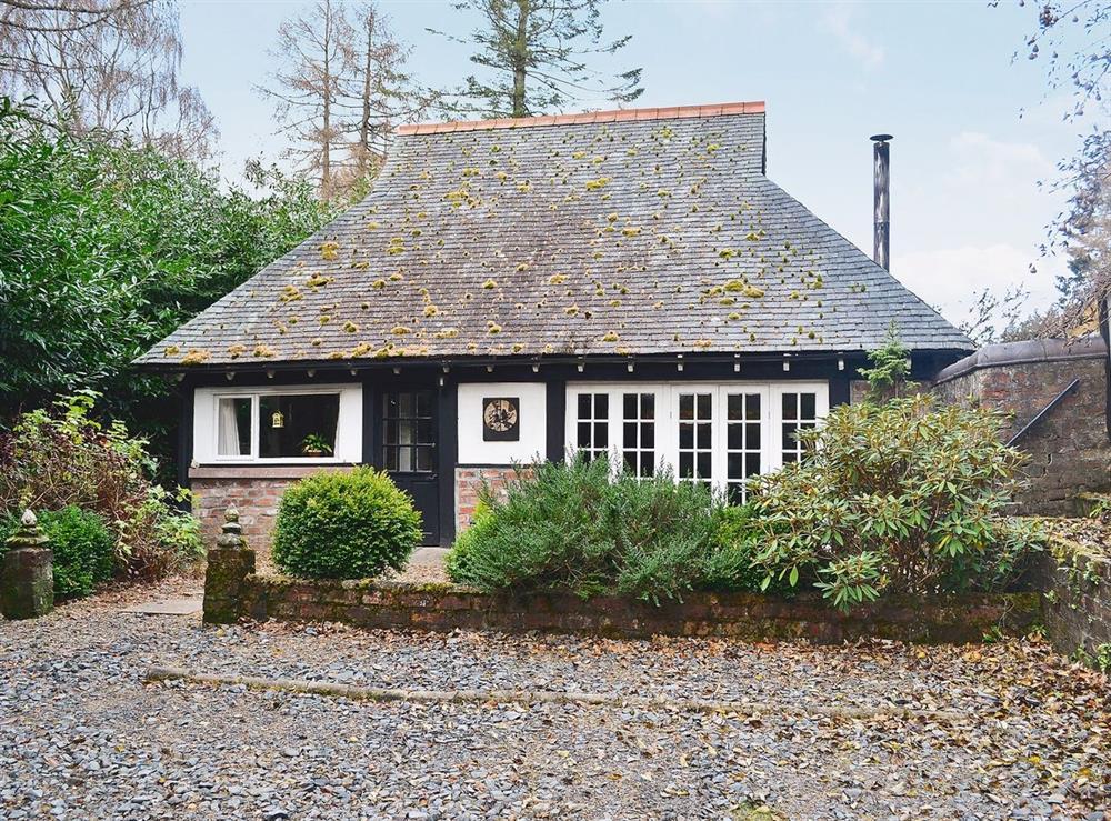 Exterior at Gareside Lodge in Shandon, Nr Loch Lomond., Dumbartonshire
