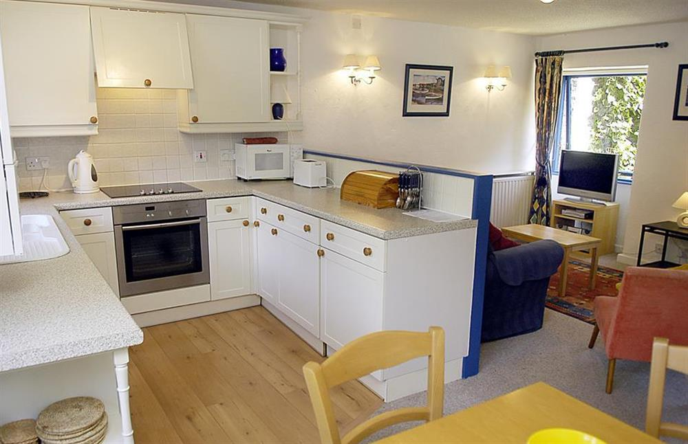 Another view of the kitchen at Gatehouse East, Modbury