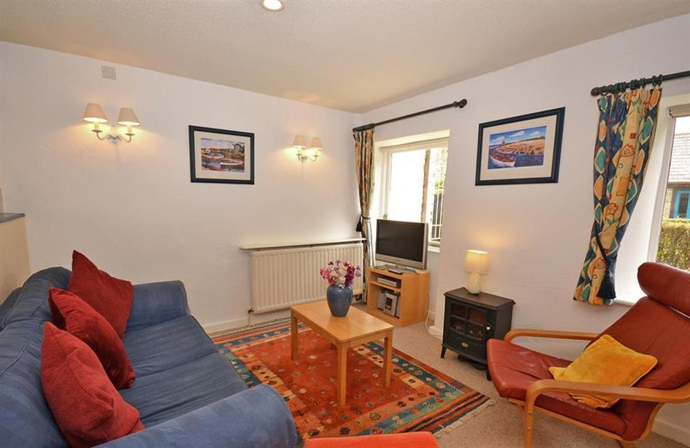 Another view of the living room at Gatehouse East, Modbury