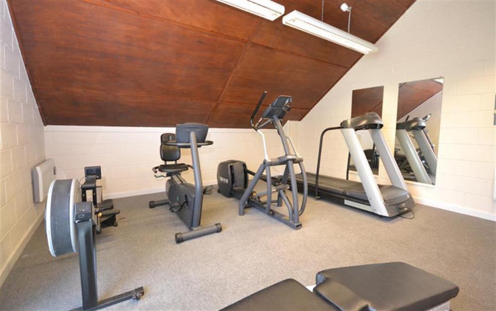 Colmer gym at Gatehouse East, Modbury