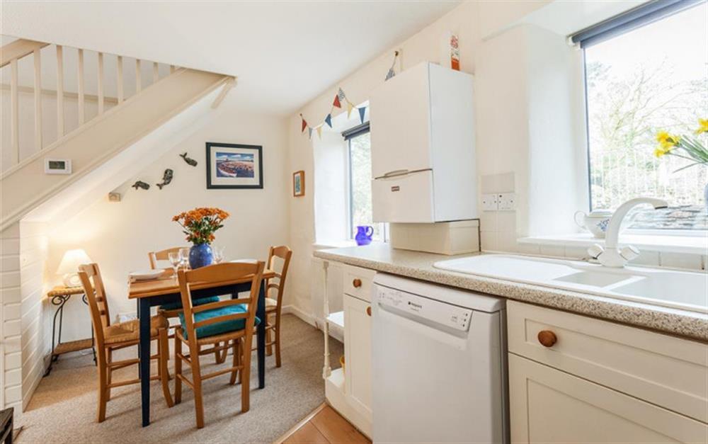 The dining area at Gatehouse East, Modbury