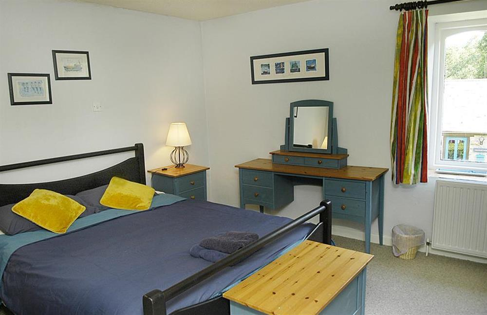 The double bedroom at Gatehouse East, Modbury