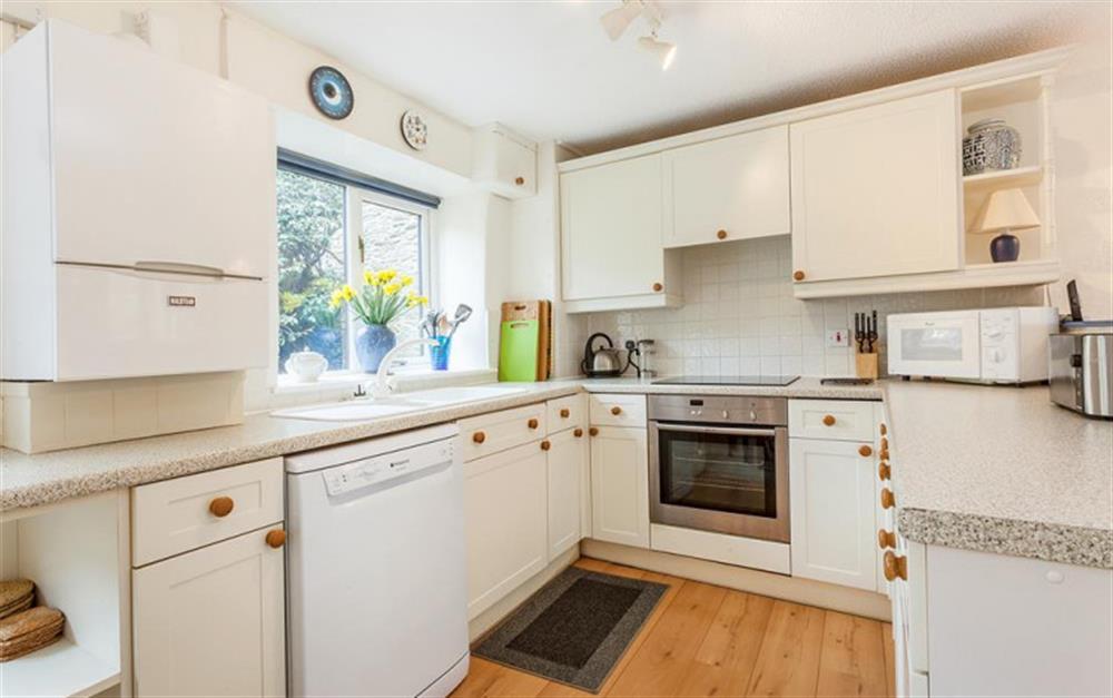 The kitchen at Gatehouse East, Modbury