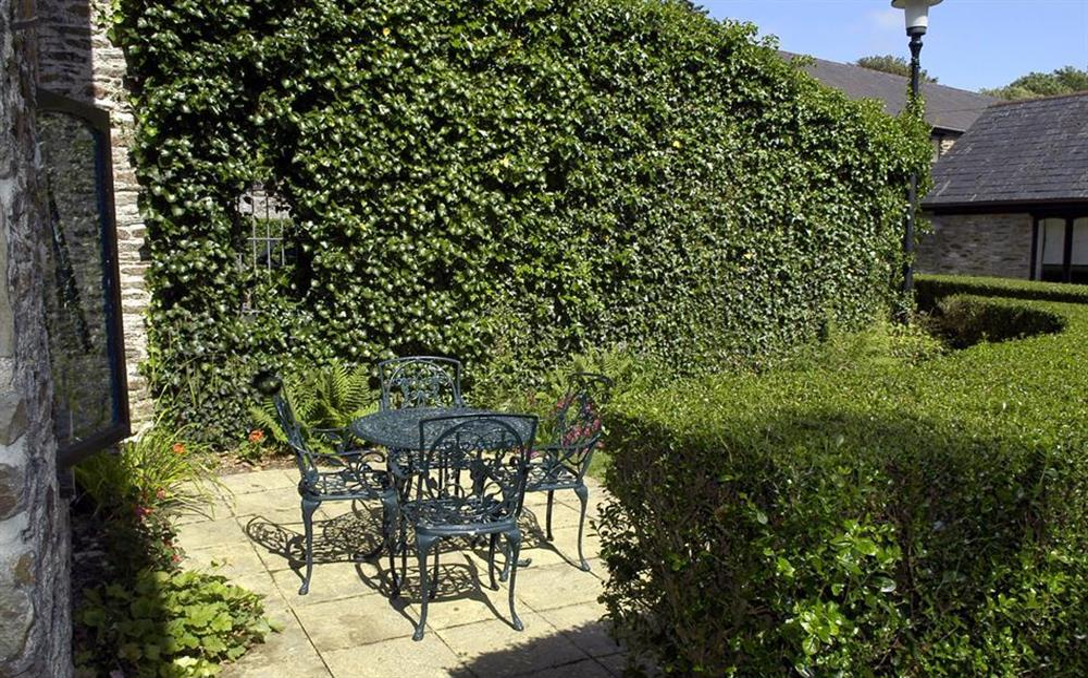 The terrace at Gatehouse East, Modbury