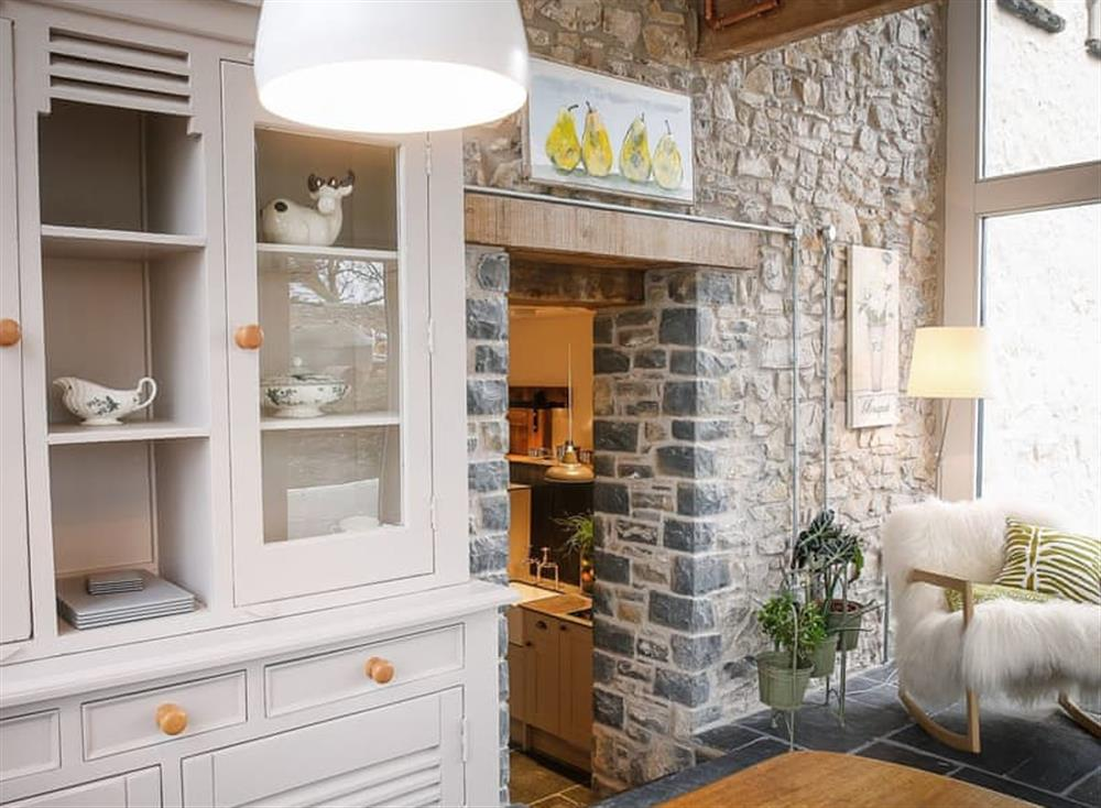 Light and airy sunroom at The Stables,