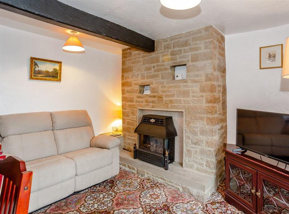 Living room/dining room at Ginnys Cottage in Haworth, Yorkshire, West Yorkshire