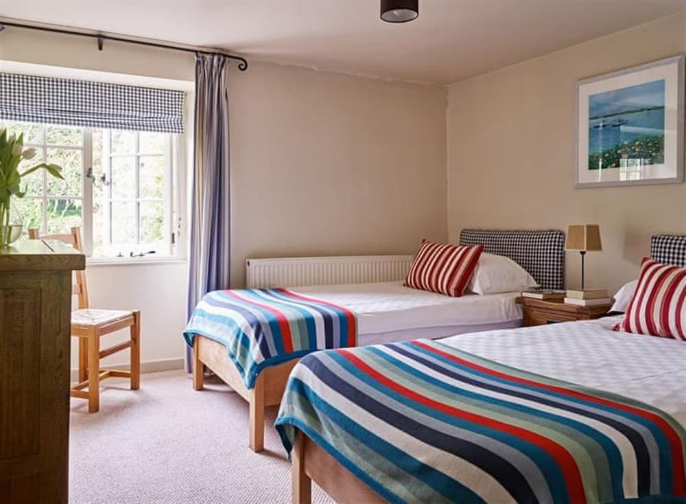 Comfortable twin bedroom at Coach House,
