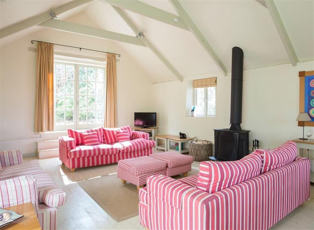 Comfortable living area at Garden House,
