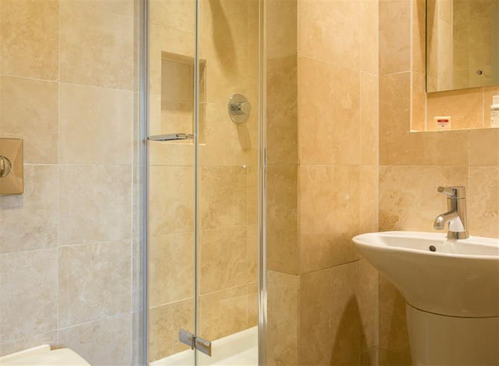 En-suite shower room at Garden House,