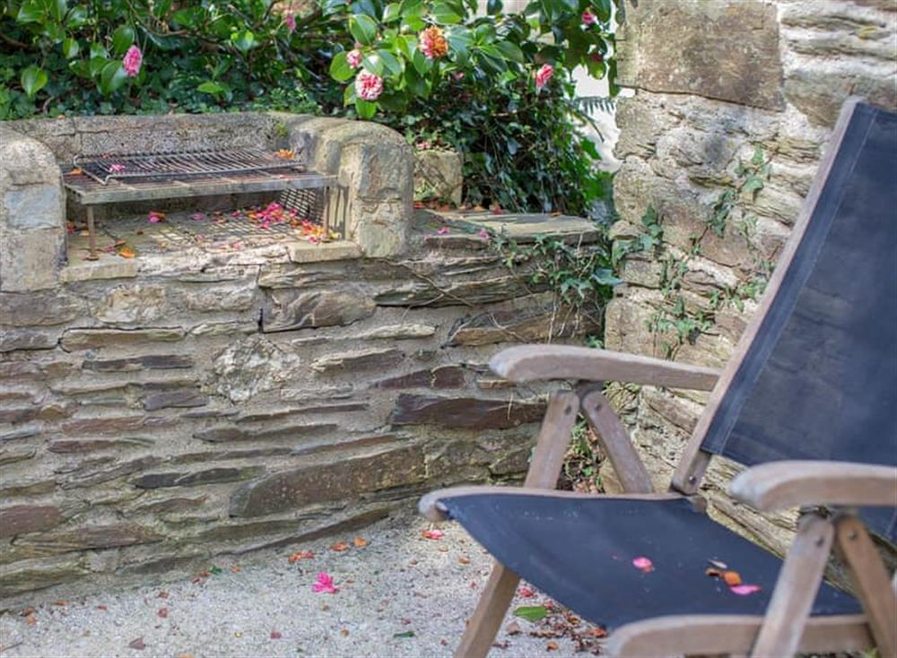 Enclosed patio with garden furniture and barbecue (photo 2) at Garden House,