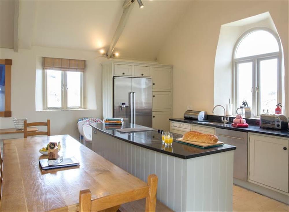 Sleek kitchen area at Garden House,