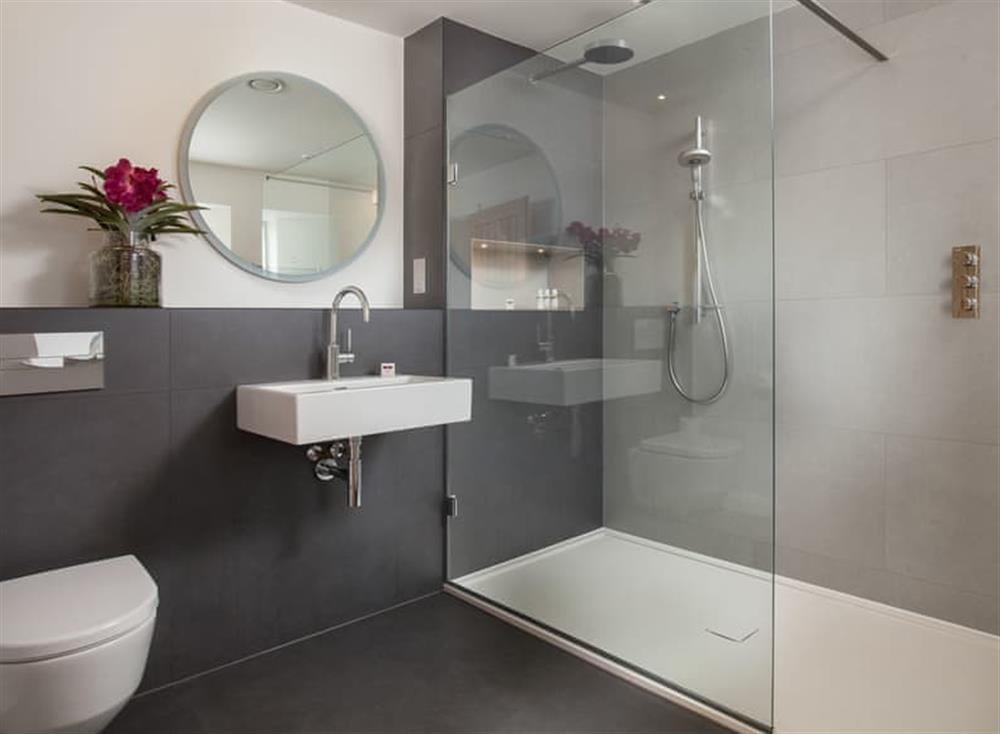 En-suite shower room (photo 2) at Gitcombe Retreat,