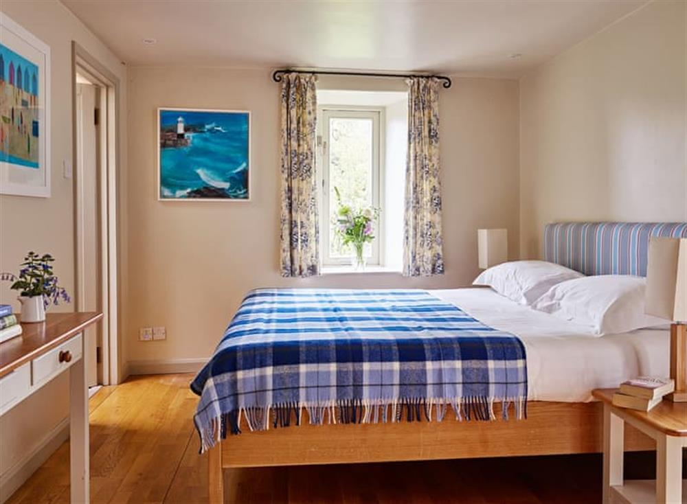 Peaceful double bedroom at Haytor Cottage,