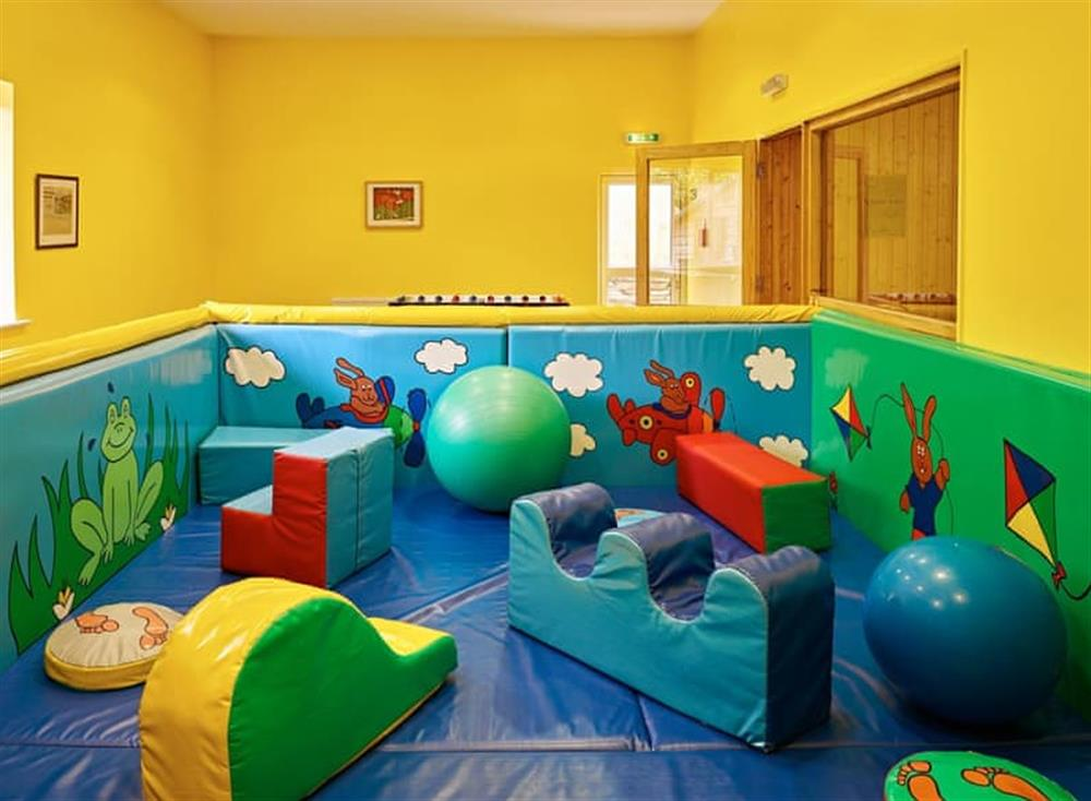 Children's soft play area at Meavy Cottage,