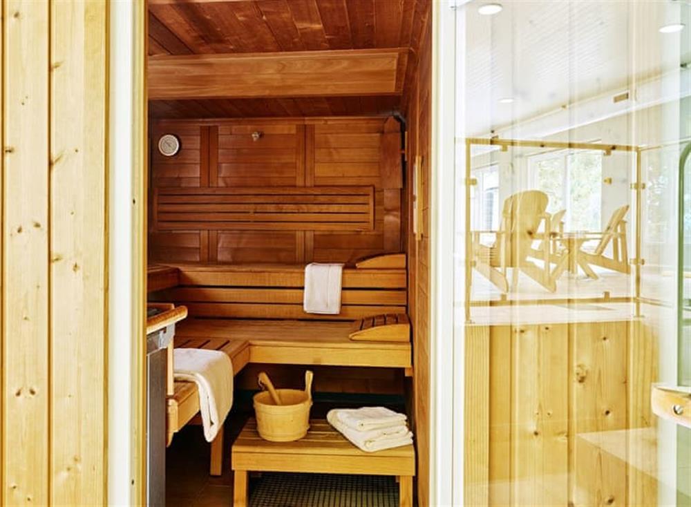Sauna at Meavy Cottage,