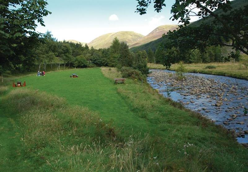 Clova Valley at Glen Clova Lodges in Nr Kirriemuir, Southern Highlands