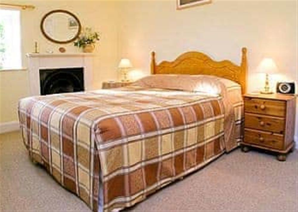 Double bedroom at Glencoe Cottage in Glencoe, Argyll