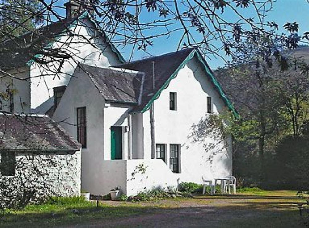 Exterior at Glencoe Cottage in Glencoe, Argyll