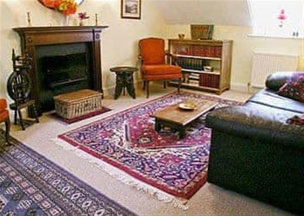 Living room at Glencoe Cottage in Glencoe, Argyll