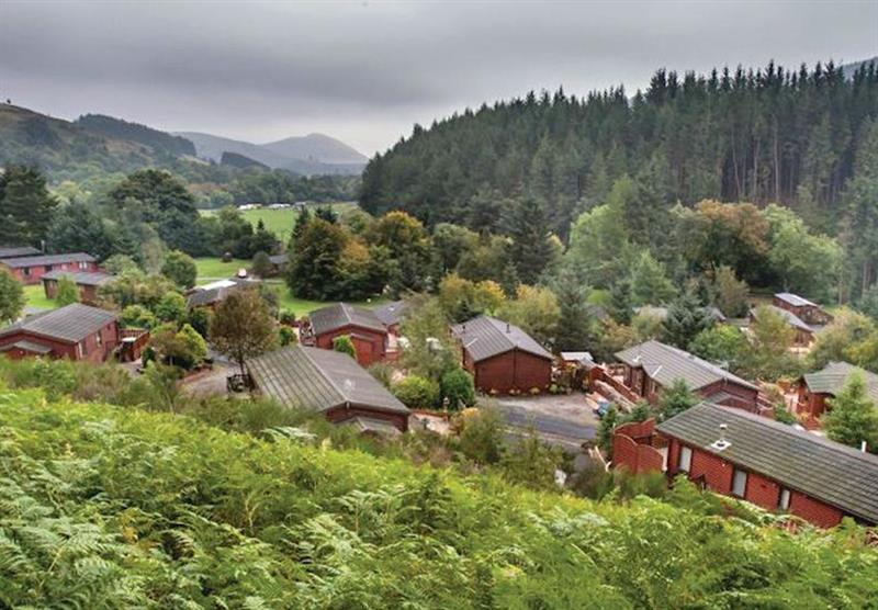 The park setting at Glendevon Country Park in , Perthshire & Southern Highlands