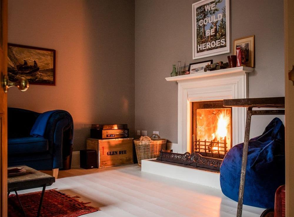 Living room at North Lodge,